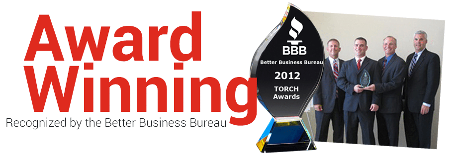Shred360 is the recipient of the 2012 BBB Torch Award