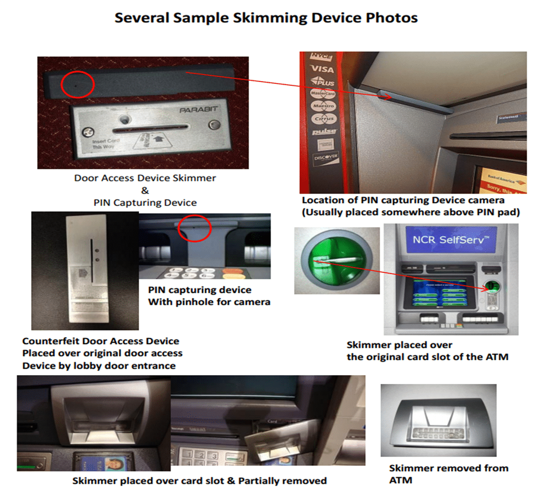How to Spot an ATM Skimmer images