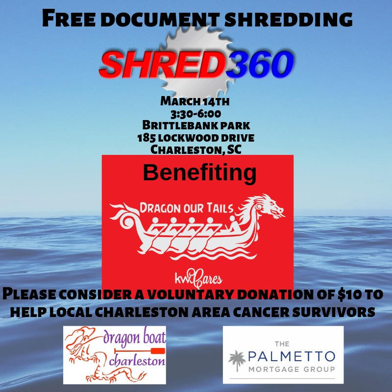 Shred Day Event and Fundraiser with Keller Williams Cares