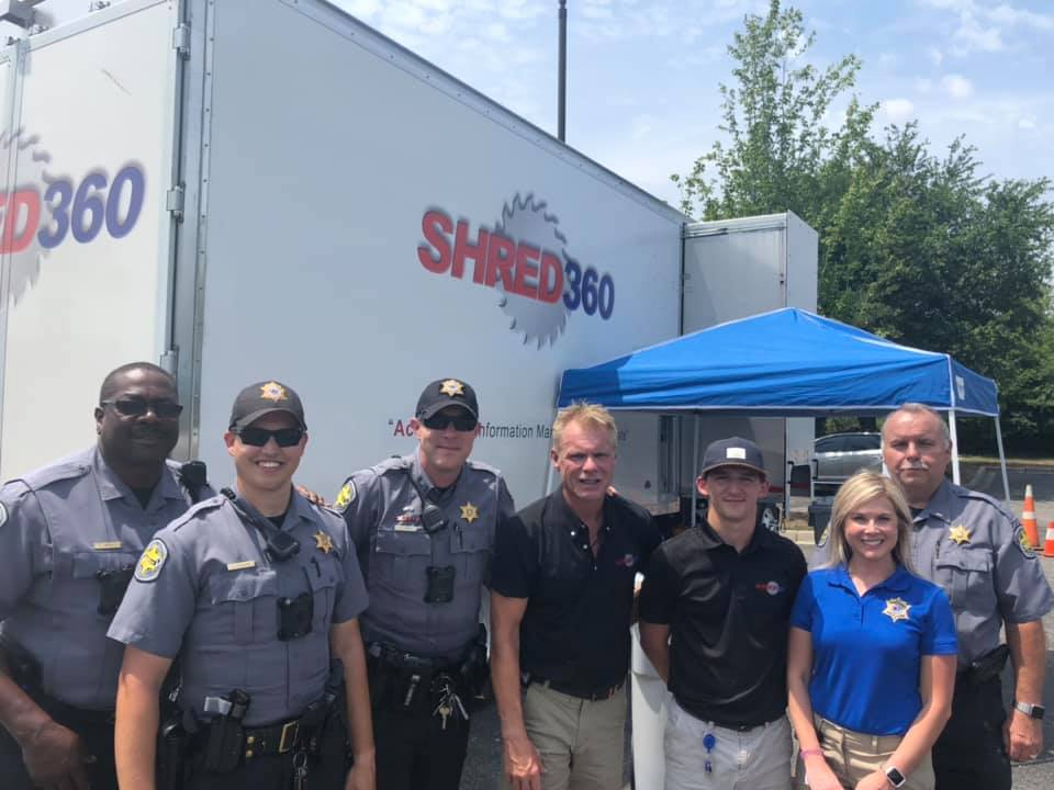 Shred Day with Horry County Sheriff's Office - Shred360